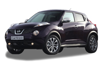 Nissan Juke with automatic transmission car rent. Minivan rent. Car rental.