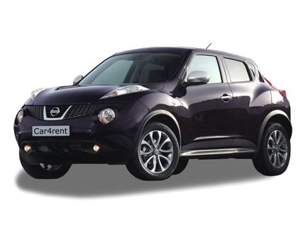 Nissan Juke ar automātisko pārnesumkārbu