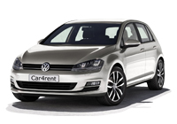 VW Golf 7 car rent. Minivan rent. Car rental.