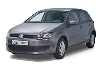 VW Polo car rent. Minivan rent. Car rental.