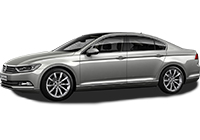 VW Passat New with automatic transmission car rent. Minivan rent. Car rental.
