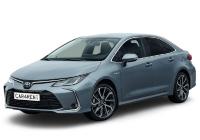 Toyota Corolla ar automātisko pārnesumkārbu autonoma. Mikroautobusu noma. Auto noma. Autonoma.