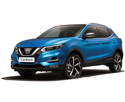 Nissan Qashqai with automatic transmission