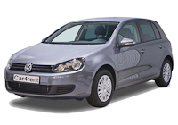 VW Golf 6 car rent. Minivan rent. Car rental.