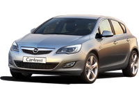Opel Astra with automatic transmission car rent. Minivan rent. Car rental.