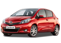 Toyota Yaris car rent. Minivan rent. Car rental.