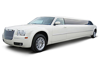 Limousine Chrysler 300C car rent. Minivan rent. Car rental.