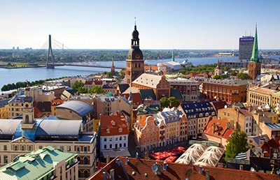 How to book a car in Riga?